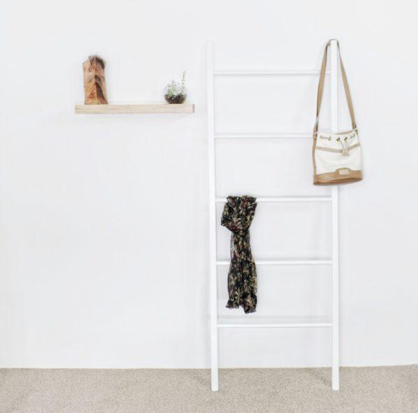 White Decor Ladder