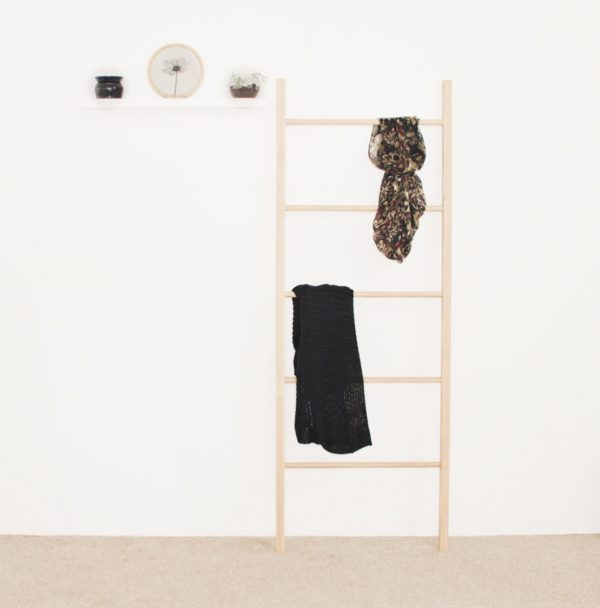 Wooden Leaning/Decor Ladder