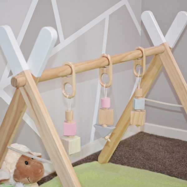 Baby gym block set