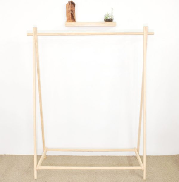 Flat Pack Clothes Rack