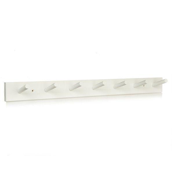 Wall hung peg rack